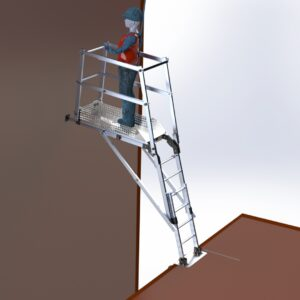 PAT 800/2200 ( PLATFORM FOR TEMPORARY ACCESS INTO THE SHAFT)