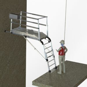 PAT 1700/3000 BIG LOADS (PLATFORM FOR TEMPORARY ACCESS INTO THE SHAFT)